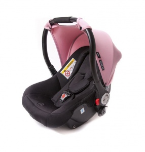Baby Monsters sun hood Luna car seat 0+ old pink
