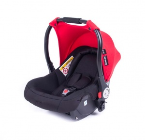 Baby Monsters sun hood Luna car seat 0+ red
