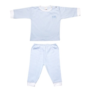 Beeren baby pyjamas light blue