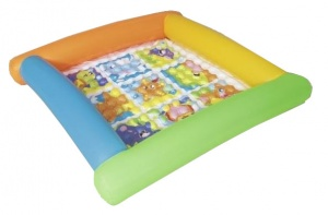 Bestway inflatable play mat 132 x 23 cm multicolor