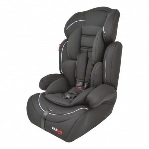 Carkids car seat group 1/2/3 black / white