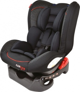 Carkids car seat group 1 black / red