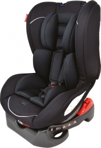 Carkids car seat group 1 black / white