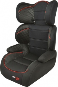 Carkids car seat group 2/3 black / red