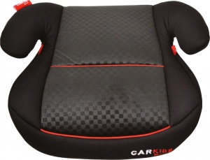 Carkids booster seat group 2-3 black / red