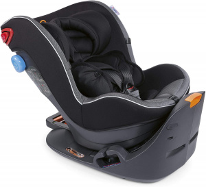 Chicco car seat junior 2Easy55 x 43 cm polyester black 2-piece