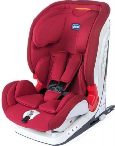 Chicco car seat Youniverse Fix junior group 1/2/3 red