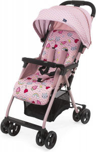 Chicco buggy Ohlala-3 Candy 101 cm polyester/aluminium roze
