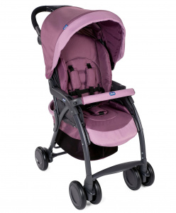 Chicco buggy Simplicity Top 102 cm polyester/aluminium paars/zwart