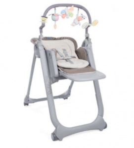 Chicco high chair 2-in-1 Magic Relax 106 cm grey