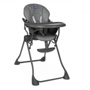 Chicco high chair Pocket junior 85 x 97 cm polyester grey