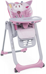 Chicco kinderstoel Polly2Start Miss Pink 91/110 cm roze