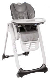 Chicco high chair Polly 2 Start 91-110 cm steel anthracite