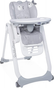 Chicco high chair Polly 2 Start 91-110 cm steel grey