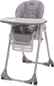 Chicco high chair Polly Easy junior 53 x 104 cm polyester grey