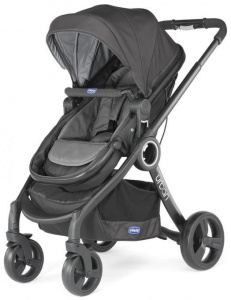Chicco kinderwagen Urban Plus aluminium antraciet 9-delig