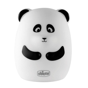 Chicco nachtlamp Sweet Lights Panda junior 15 cm wit/zwart
