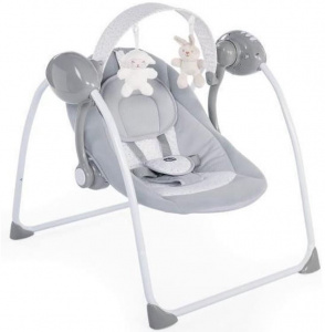 Chicco rocking chair relax & play steel 69,5 cm grey