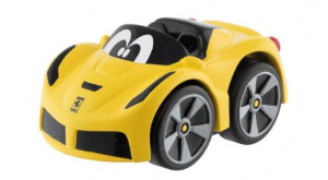 Chicco toy car Turbo Touch Ferrari F12junior yellow