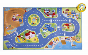Chicco play Electronic Citymat junior 110 cm 2-part