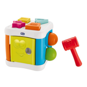 Chicco vormenstoof Sort & Beat Cube 2-in-1 junior 8-delig