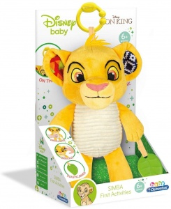 Clementoni activity knuffel Lion King Simba 29 cm