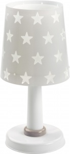 Dalber tafellamp Stars glow in the dark 30 cm grijs