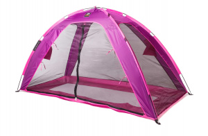 Deryan bedtent junior 200 cm polyester purple