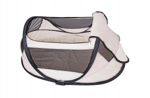 Deryan travel cot BabyBox 120 cm polyester junior beige