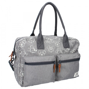 Disney sac à langer Mickey Mouse 16 litres polyester gris