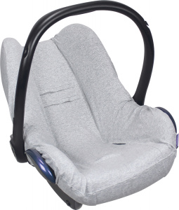Dooky car seat cover cotton grey