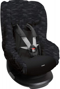 Dooky car seat cover Matrix cotton anthracite 2-piece