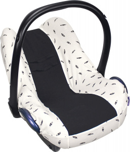 Dooky car seat cover Veren universal cotton black/white