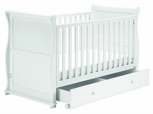 East Coast Alaska sledge 3 in 1 crib / toddler / bench bed 157 cm