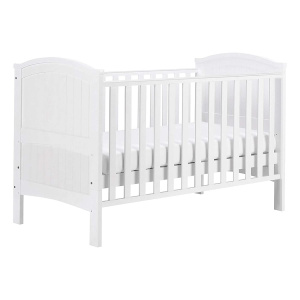 East Coast Alby 2 in 1 ledikantbed en peuterbed wit 146 cm