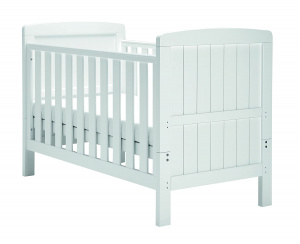 East Coast Austin Cot 2 in 1 ledikantbed en peuterbed wit 147 cm