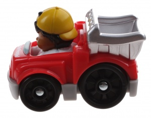 Fisher-Price Little People Wheelies voiture 6.5 cm rouge (Y5957)