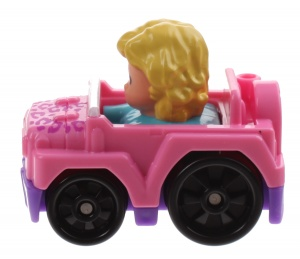 Fisher-Price Voiture Little People Wheelies 6.5 cm rose (DFP13)