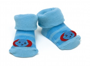 Fisher-Price socks elephant blue 0 - 6 months