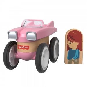 Fisher-Price Wonder Makers vehicles 9 cm pink 4-piece