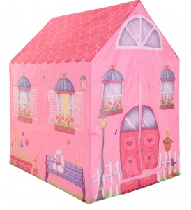 Free and Easy play tent pink house 102 cm pink