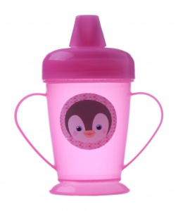 Free and Easy nozzle cup 13 cm pink