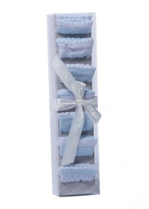 Gamberritos baby socks 0-6 months blue 7-piece
