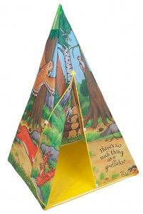 Kamparo play tent The Gruffalo Tepee 100 x 100 x 150 cm
