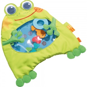 Haba water play mat small frog green 36 x 32 cm