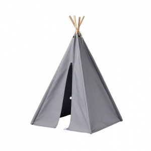 Kid's Concept mini tepee tent 75 cm grey