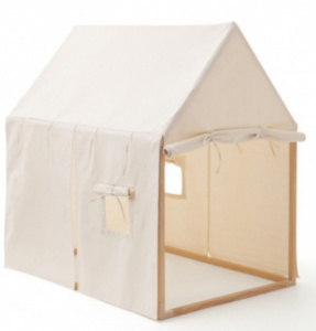 Kid's Concept speeltent junior 110x124 cm polyester/hout wit