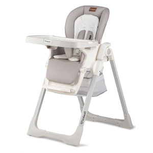 kidwell high chair Prime Szare 107 cm white/grey