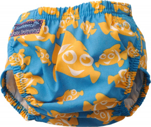 Konfidence swimming diaper Aquanappy Clownfish junior blue one-size