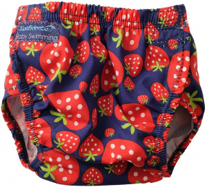 Konfidence swimming nappy Aquanappy Strawberry junior red one-size